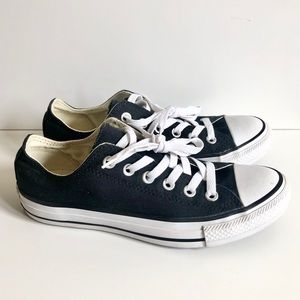 Converse All Star Black Low Top Shoe